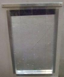 PVC Draught screen